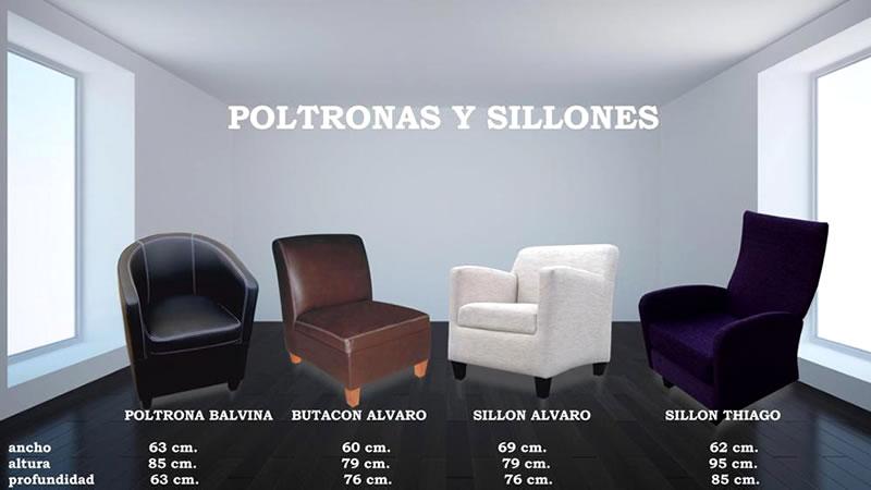 Poltronas y Sillones